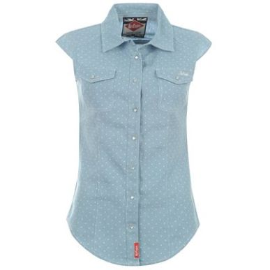 Купить Lee Cooper Sleeveless Denim Shirt Ladies 1850.00 за рублей