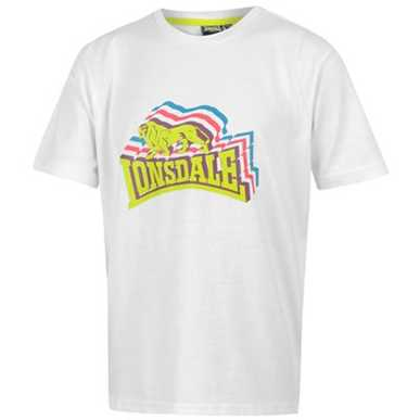 Купить Lonsdale Stacked Logo T Shirt Junior 800.00 за рублей