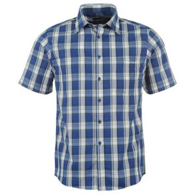 Купить Lee Cooper Short Sleeve Check Shirt Mens  за рублей