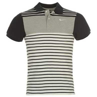 Купить Nike Block Pique Polo Shirt Mens  за рублей