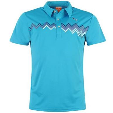 Купить Puma Graphic Golf Polo Shirt Mens  за рублей