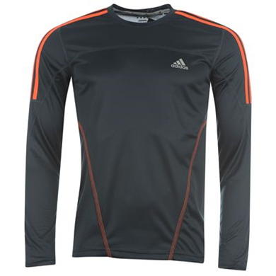 Купить adidas Response Long Sleeved Running T Shirt Mens 2200.00 за рублей