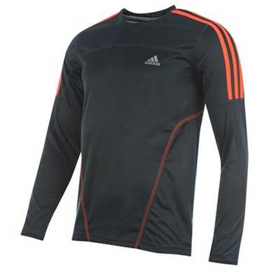 Купить adidas Response Long Sleeved Running T Shirt Mens 2200.00 за рублей