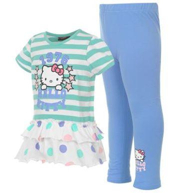 Купить Hello Kitty Dress and Leggings Set Infant Girls  за рублей