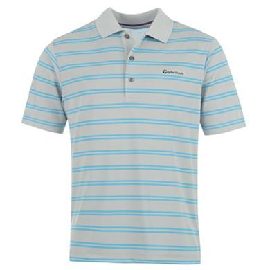 Купить TaylorMade Stripe Golf Polo Shirt Mens  за рублей