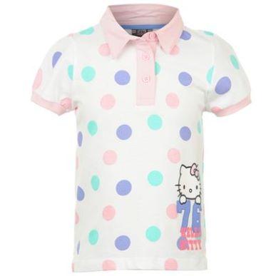 Купить Hello Kitty Polo T Shirt Infant Girls  за рублей