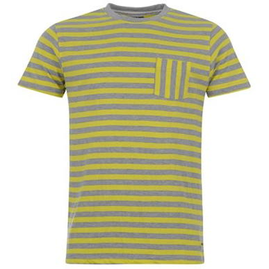 Купить Lee Cooper Neon Stripe T Shirt Mens  за рублей