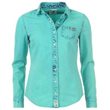 Купить Kangol Overdyed Shirt Ladies  за рублей
