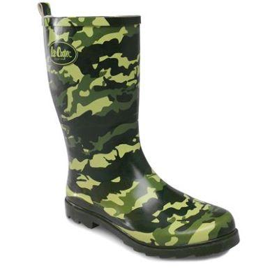 Купить Lee Cooper Cooper Camouflage Wellies Mens  за рублей