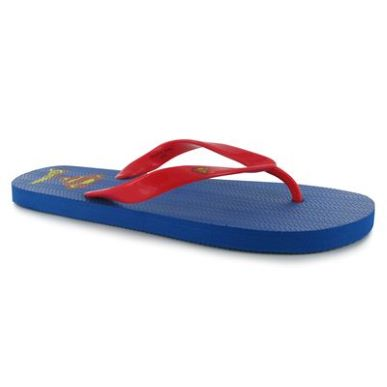 Купить Superman Mens Flip Flops 800.00 за рублей