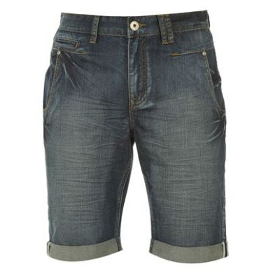 Купить Firetrap Denim Turn Up Shorts Mens 2150.00 за рублей