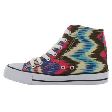 Купить Miss Fiori Print Ladies Hi Top Canvas Shoes 1700.00 за рублей
