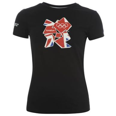 Купить adidas Union Jack Logo T Shirt Ladies  за рублей