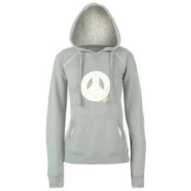 Купить Lee Cooper Lace Logo Hoody Ladies  за рублей
