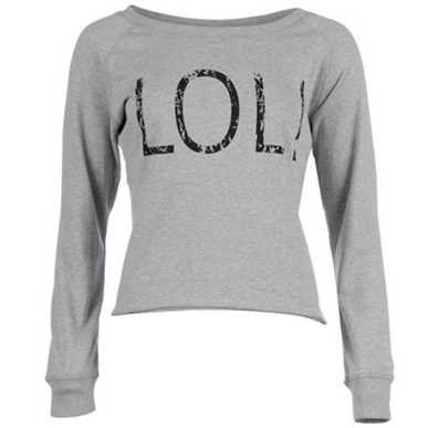 Купить Golddigga Cropped LOL Sweater Ladies  за рублей