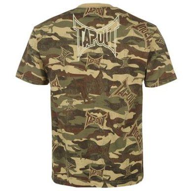 Купить Tapout Camouflage T Shirt Mens 1700.00 за рублей