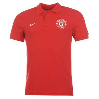 Купить Nike Manchester United Core Polo Shirt Mens  за рублей