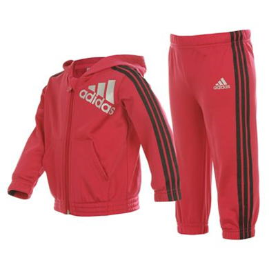 Купить adidas 3 Stripe Bling Tracksuit Infants  за рублей