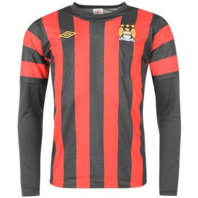 Купить Umbro Manchester City Away Shirt 2011 2012 LS UNS  за рублей