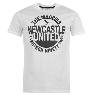 Купить NUFC Magpie Graphic T Shirt Mens  за рублей