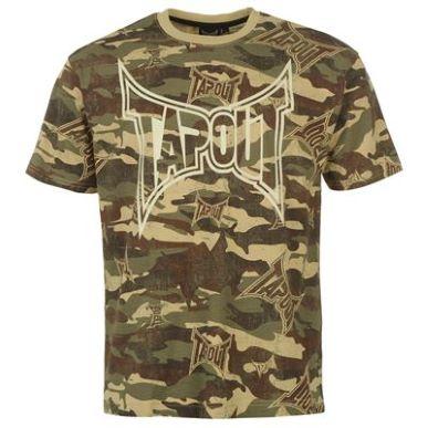 Купить Tapout Camouflage T Shirt Mens  за рублей
