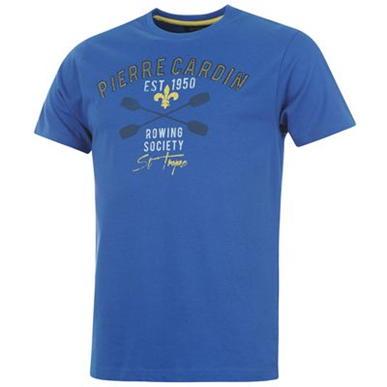 Купить Pierre Cardin Applique T Shirt Mens 800.00 за рублей