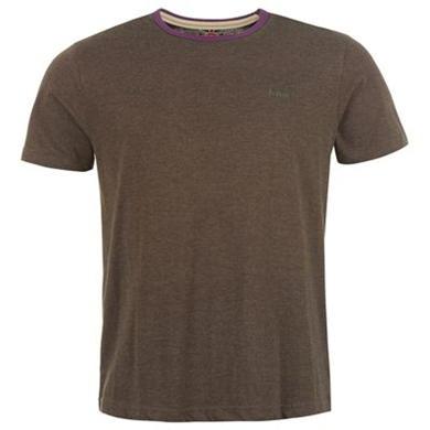 Купить Lee Cooper Contrast Crew T Shirt Mens  за рублей