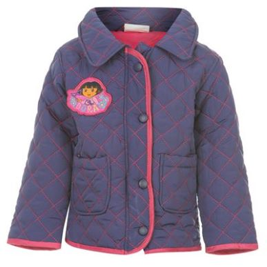 Купить Dora the Explorer the Explorer Quilted Jacket Infants  за рублей