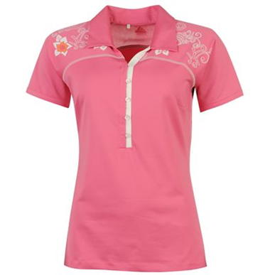Купить adidas Print Golf Polo Shirt Ladies  за рублей
