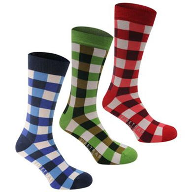 Купить Firetrap 3 Pack Socks Mens  за рублей
