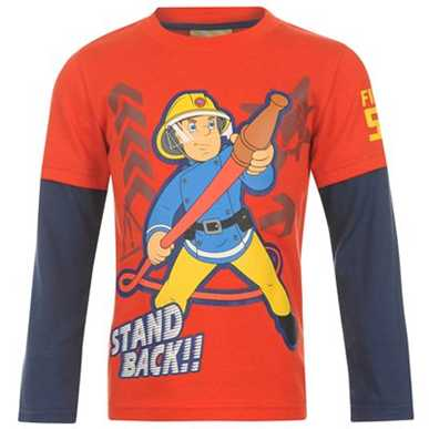 Купить Fireman Sam Sam Layer T Shirt Infants  за рублей