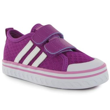 Купить adidas Vulcster CF Girls Infants Trainers  за рублей