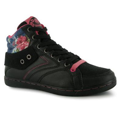 Купить Dunlop Floral Fold Ladies Hi Tops  за рублей