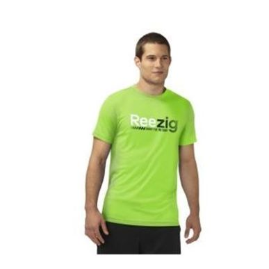 Купить Reebok Training Day Zig Gradiated T Shirt  за рублей