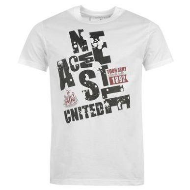 Купить NUFC Toon Graphic T Shirt Mens  за рублей