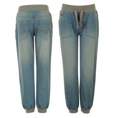 Купить Lee Cooper Light Wash Jog Jeans Junior  за рублей