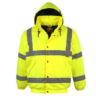 Купить Dunlop Hi Viz Bomber Jacket Mens  за рублей