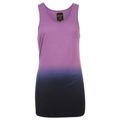 Купить Golddigga Dip Dye Sleeveless Vest Top Ladies  за рублей