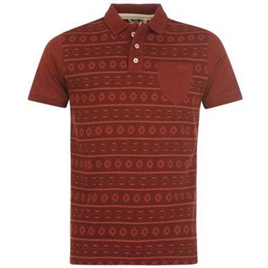 Купить Lee Cooper Aztec All Over Print Polo Shirt Mens 1750.00 за рублей