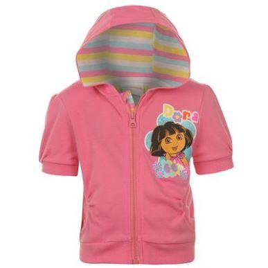 Купить Dora the Explorer the Explorer Short Sleeve Zip Hoody Infant Girls  за рублей