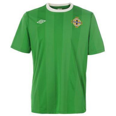 Купить Umbro Northern Ireland Home Shirt 2010 2011 Junior  за рублей
