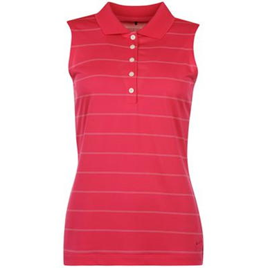 Купить Nike Sleeveless Stripe Golf Polo Shirt Ladies  за рублей