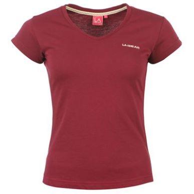 Купить LA Gear V Neck T Shirt Ladies  за рублей