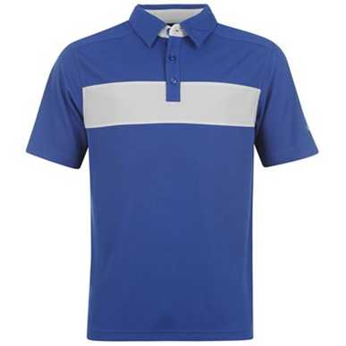 Купить Callaway Stripe Golf Polo Shirt Mens  за рублей