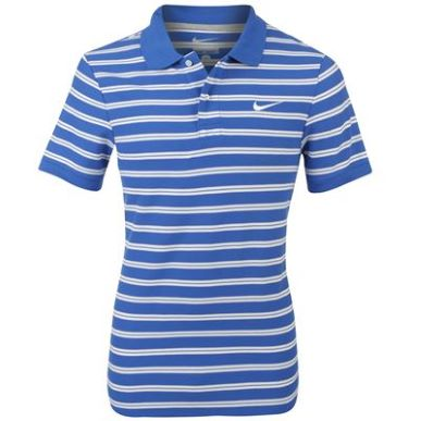 Купить Nike Striped Pique Polo Shirt Mens  за рублей