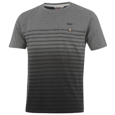 Купить Lee Cooper Dip Dye Stripe T Shirt Mens 1600.00 за рублей