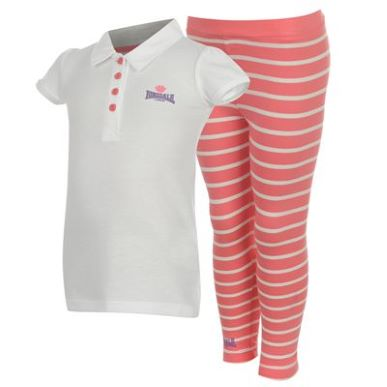 Купить Lonsdale 2 Piece Summer Set Infant Girls  за рублей