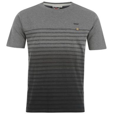 Купить Lee Cooper Dip Dye Stripe T Shirt Mens 1600.00 за рублей