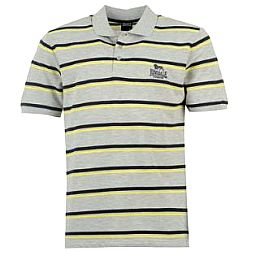 Купить Lonsdale Pique Striped Polo Shirt Mens 1650.00 за рублей