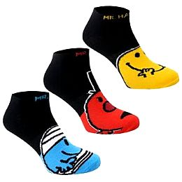 Купить Mr Men 3 Pack Trainer Socks Mens 650.00 за рублей